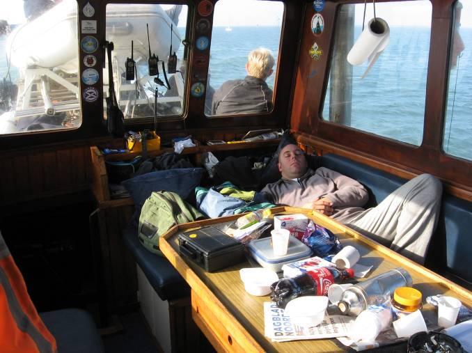 Anderen sliepen hun stikstofroes uit. (daar had ik geen last van!)